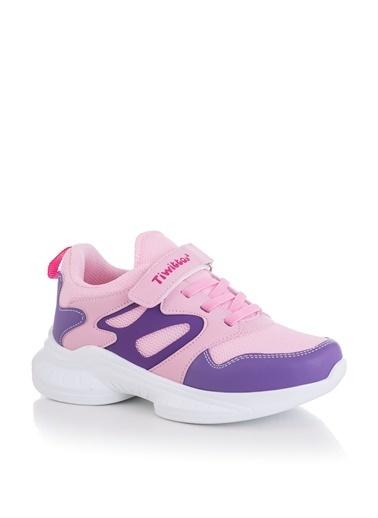Tonny Black Lila Pembe Çocuk Spor Ayakkabı Tbk08 Lila